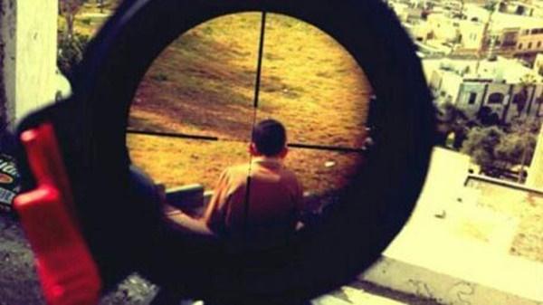 06Apr15_AA اسرائیلی نشانہ بازی01